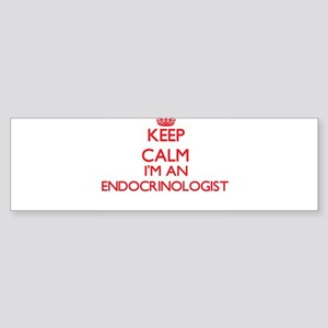 Keep calm I'm an Endocrinologist Bumper Sticker